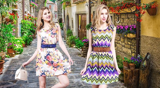 Štýlové a pohodlné dámske šaty Ria