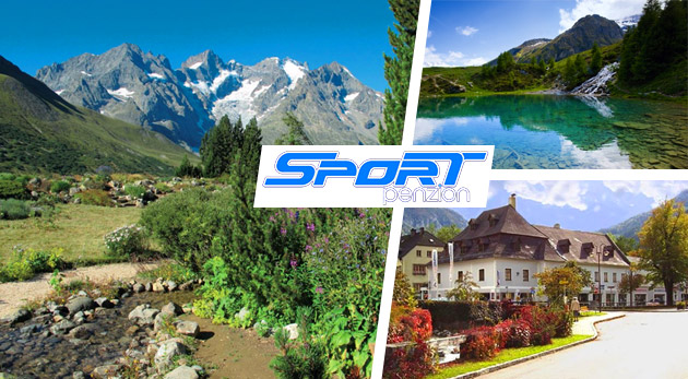 Oddych v nádhernej prírode rakúskych Álp počas 3 dní v českom Penzióne Sport Alpy