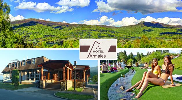 Letný relax v Hoteli Armales*** uprostred Národného parku Poloniny s polpenziou a vstupom na biokúpalisko