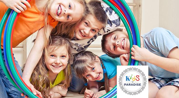 Týždenný denný tábor v Kids Paradise pre deti od 2 do 6 rokov - termíny počas celého augusta
