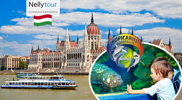 Spoznajte Budapešť a jedinečné Tropikárium na jednodňovom zájazde s CK Nelly Tour