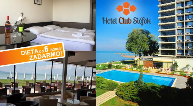 Skvelý oddych pri Balatone v Hoteli Európa a Hungária*** v stredisku Siófok