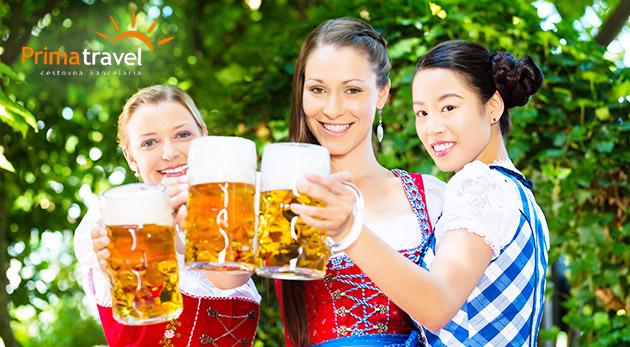 Jedinečný festival piva vo Viedni s prehliadkou mesta