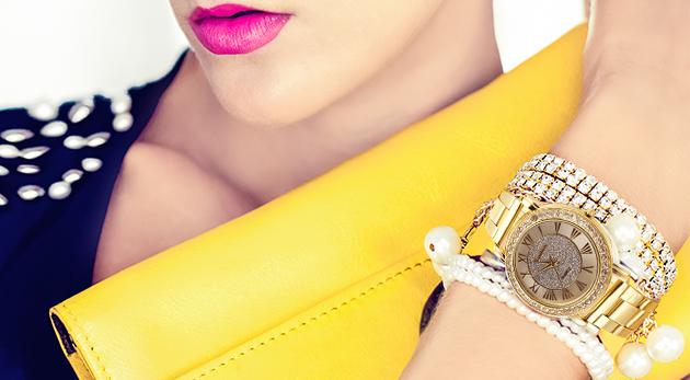 Pánske hodinky z nerezovej ocele alebo dámske zlaté hodinky