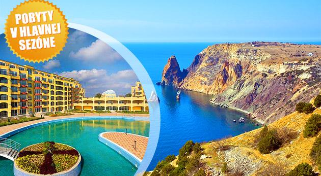Letná dovolenka v apartmánoch Midia Grand Resort v Bulharsku (cena za 2 osoby, 3. osoba grátis)