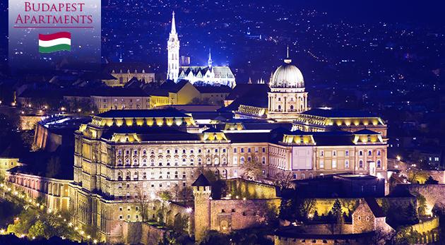 Tri dni v centre Budapešti v luxusných apartmánoch