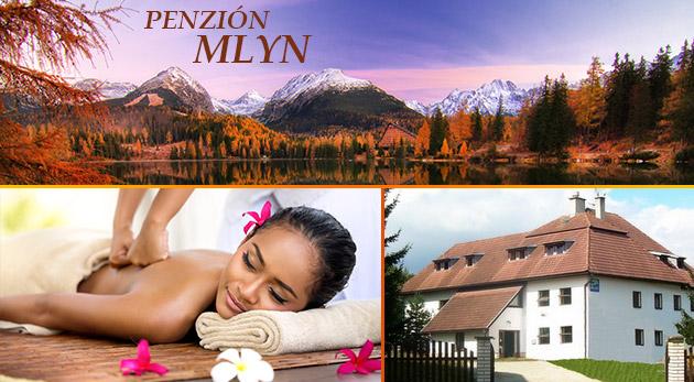Jesenný relax v príjemnom Penzióne Mlyn vo Vysokých Tatrách