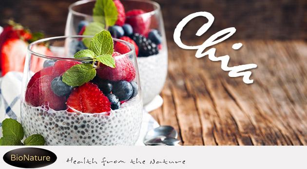 Chia semienka - zdravie, energia a pomoc pri chudnutí na prírodnej báze