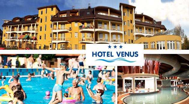 Relax plný wellness v Hoteli Venus*** v maďarskom kúpeľnom meste Zalakaros