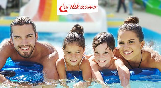 Septembrový oddych v komplexe termálneho kúpaliska Vadaš v Štúrove na 4 alebo 5 dní so vstupmi do bazénov