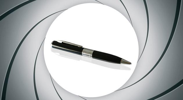 Multifunkčné a elegantné pero so záznamom zvuku a obrazu