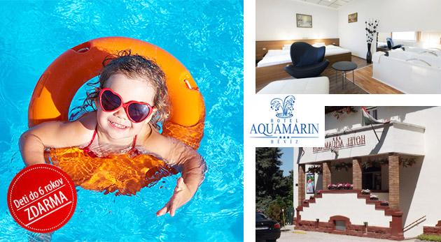 Relax v maďarskom Hévíze v Hoteli Aquamarin*** s vlastným termálnym prameňom