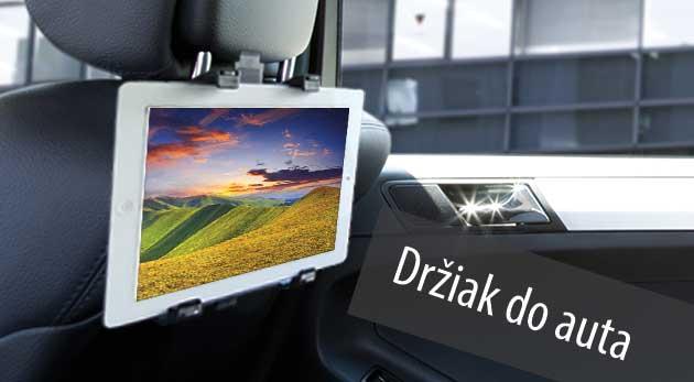 Držiak na tablet do auta na operadlo sedadla