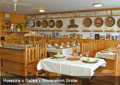 Pečené prasiatko u Galika