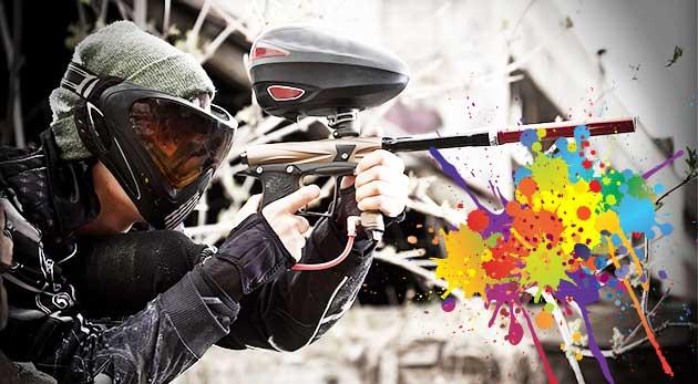 3 hodiny paintballu v Kútoch