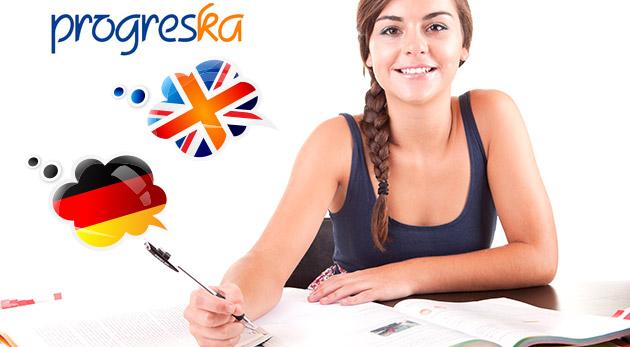 Intenzívne kurzy angličtiny alebo nemčiny počas víkendov v Jazykovej škole Progreska
