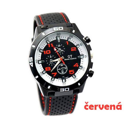 b2a5b1c07 Pánske hodinky značky GT Grand Touring, farba červená