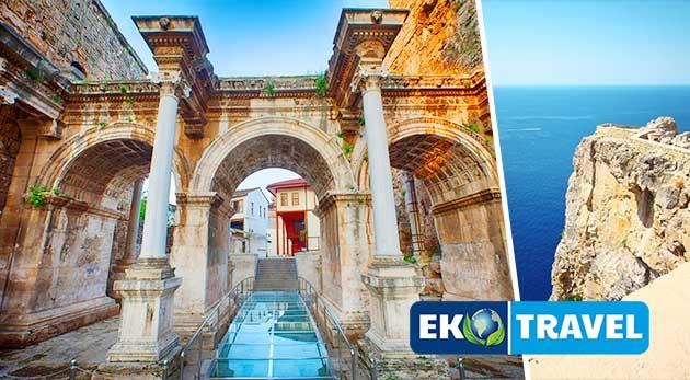 Letecký zájazd do slnečného Turecka s možnosťou výletu na Rodos
