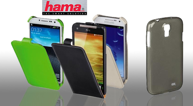 Výklopné puzdro na mobil HAMA pre Samsung Galaxy S 4 - farba biela za 4,90 €