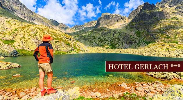 Relaxačné dni pod štítmi hôr v Hoteli Gerlach*** v Poprade