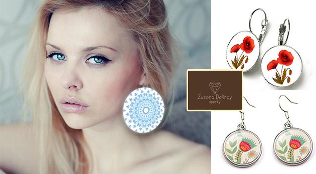 Handmade šperky s originálnymi motívmi z dielne slovenskej umelkyne Zuzany Dolinay