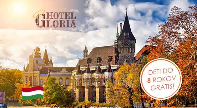 Skvelé 3 dni v Hoteli Gloria*** blízko centra pre dvoch
