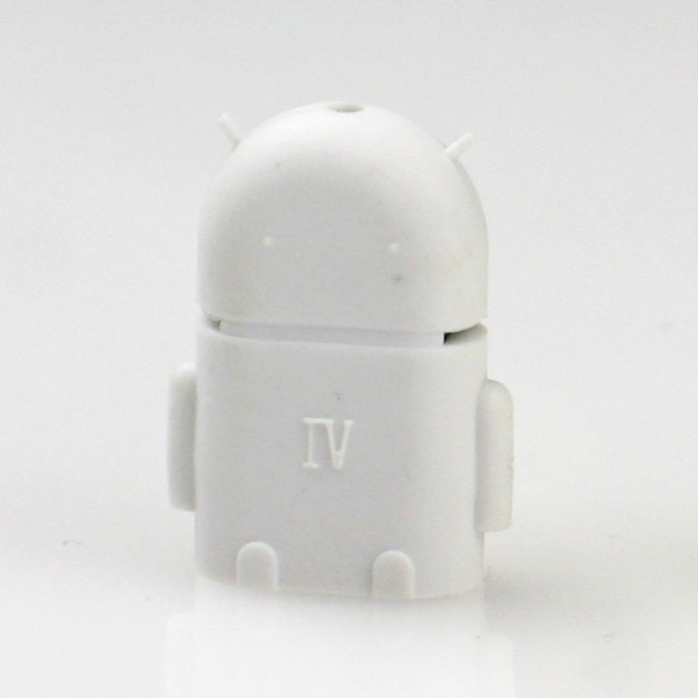 USB OTG adaptér na android - biely