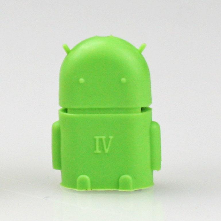 USB OTG adaptér na android - zelený