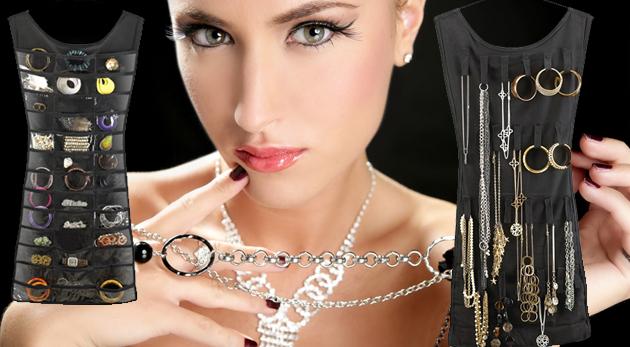 Závesný organizér na šperky - poriadok vo vašich cennostiach!