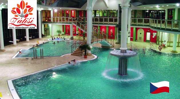 Relaxačné dni v Hoteli Zátiší vo Františkových Lázňach