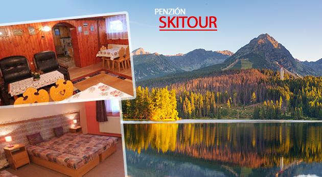 Oddýchnite si v jesenných Vysokých Tatrách v Penzióne Skitour**+ na 3 alebo 4 dni