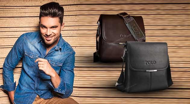 Elegantné POLO tašky pre pánov