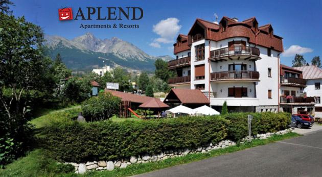 Relax v Tatranskej Lomnici na 3 alebo 4 dni v komfortných apartmánoch alebo štúdiách