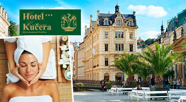 Relax v Karlových Varoch v Hoteli Kučera*** priamo v srdci kúpeľnej zóny pre dvoch