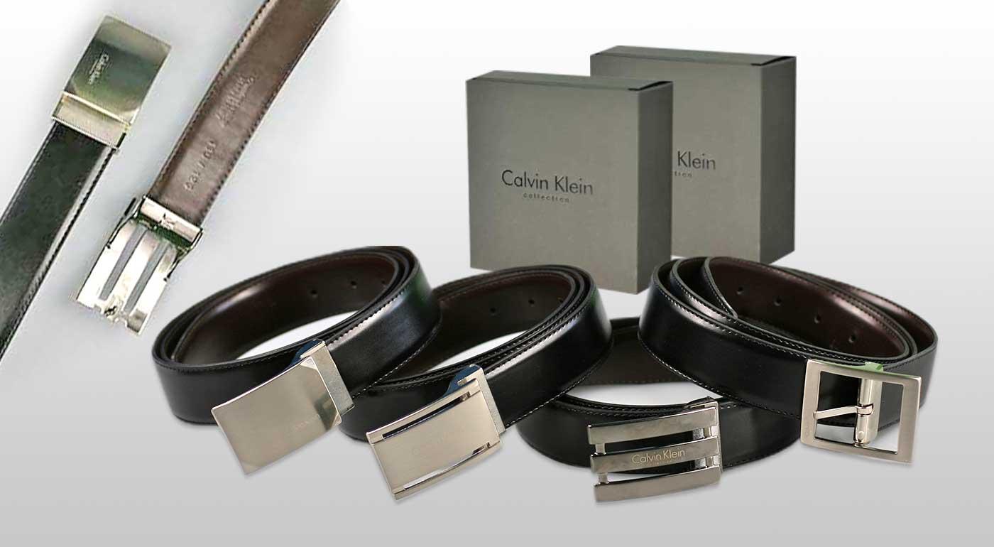 Pánsky kožený opasok Calvin Klein - na výber zo 4 modelov