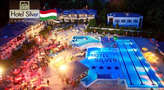 Wellness oddych v Hoteli Silver****superior pri maďarskom kúpeľnom komplexe Hungarospa pre dvoch