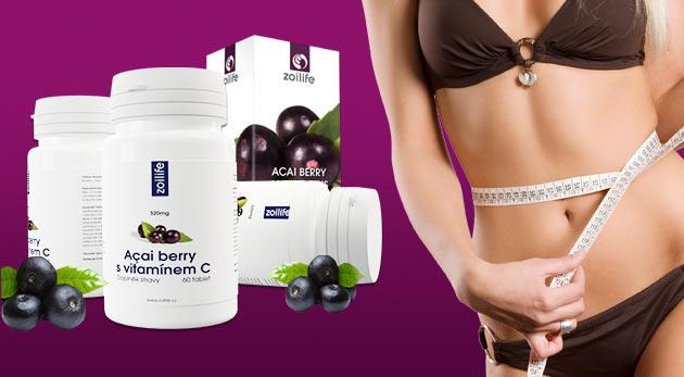Výživový doplnok Açai Berry s vitamínom C - 60 tabliet