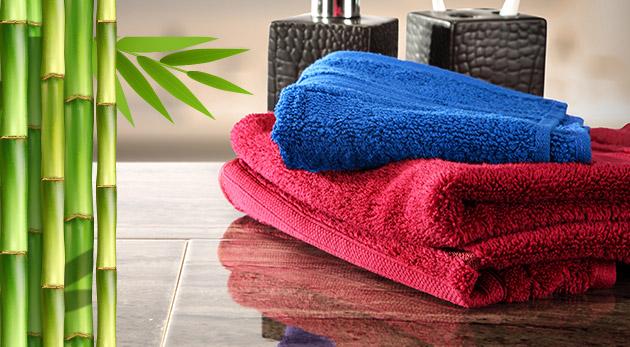 Vysoko savé bambusové uteráky alebo osušky - na výber z 12 farieb