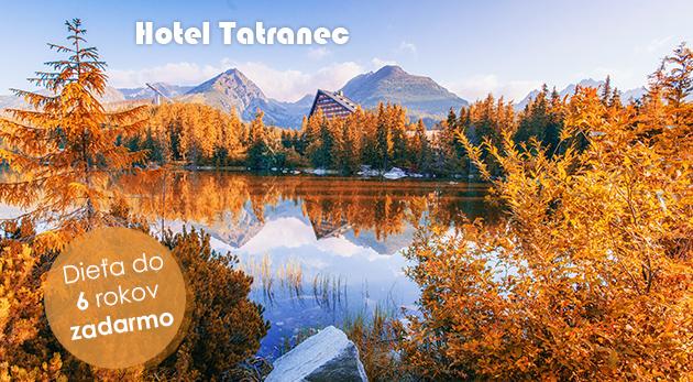 Tri jesenné dni v Tatranskej Lomnici v Hoteli Tatranec vrátane polpenzie a skvelých zliav