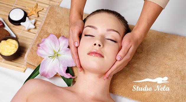 Blahodarná masáž hlavy, olejová alebo Aroma touch masáž v Štúdiu Nela