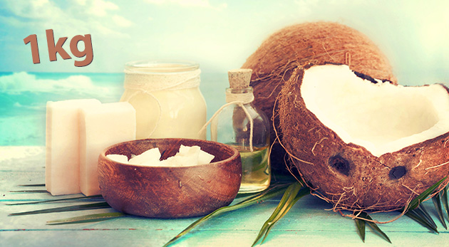 Kokosový olej - 1 kg balenie