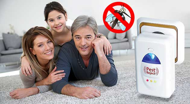 Pest Reject - účinný odpudzovač hmyzu a hlodavcov