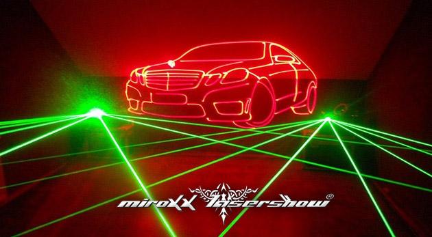 Profesionálna Laser show v trvaní 5 hodín pre vašu párty