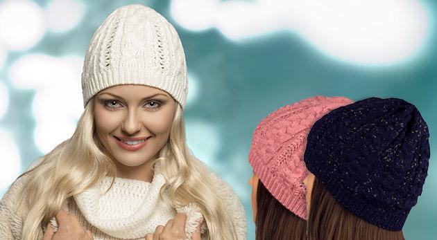 Trendy dámske čiapky v rôznych farbách