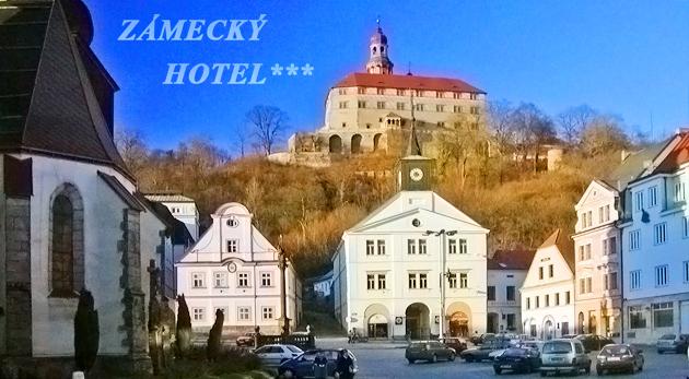 2 dňový pobyt v útulnom Zámeckom hoteli*** v českom meste Náchod