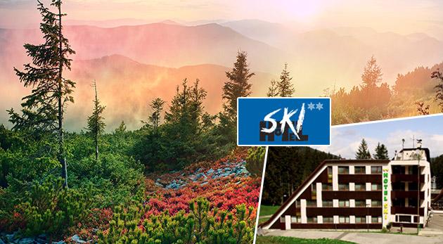 Oddych v malebnej prírode Demänovskej doliny v Hoteli SKI pre dvoch