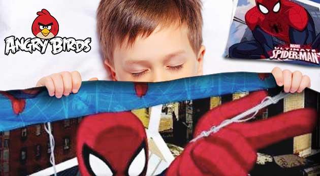 Detské posteľné obliečky s rôznymi motívmi