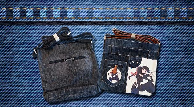 Trendy riflové kabelky - na výber z 5 modelov