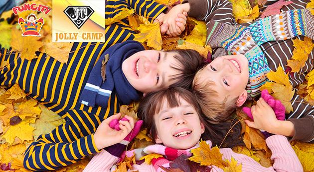 Jesenné prázdniny s denným táborom Jolly Camp pre deti s bohatým celodenným programom, stravou a výletmi v cene