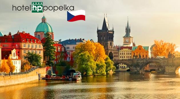 Pobudnite v srdci Prahy v luxusnom Hoteli Popelka****